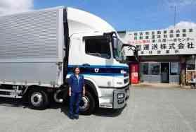 女性が楽しく働ける環境があります!4tフリー トラックドライバー(夜)津北